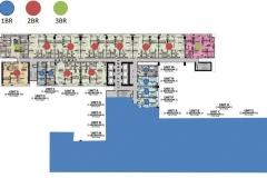 3br floor plan park mckinley west fort bonifacio global city taguig