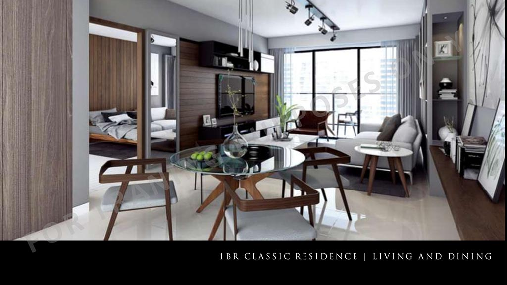 one bedroom parklinks north tower preselling condo for sale pasig city and quezon city