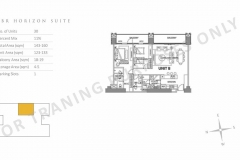 preselling parklinks north tower 2br unit layout