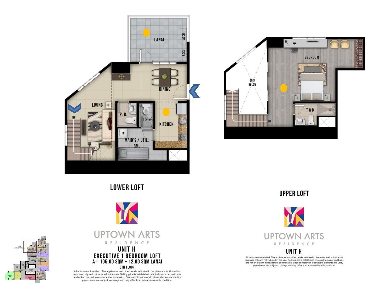 Uptown Arts Residence  Preselling Condo For Sale in Bonifacio Global City BGC