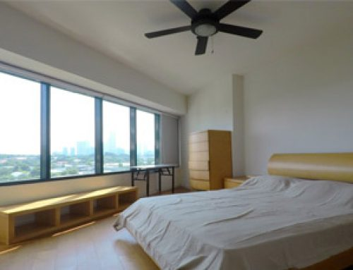 Fully Furnished Two Bedrooms 3BR Condo For Rent with Maids Room in One Rockwell East Tower Makati City