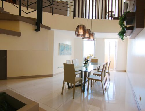 Brand New & Interior Decorated Three Bedroom 3BR Penthouse Unit with Balcony For Sale in Venice Mckinley Hill Fort Bonifacio Taguig I Unit with a View of Venice Canal