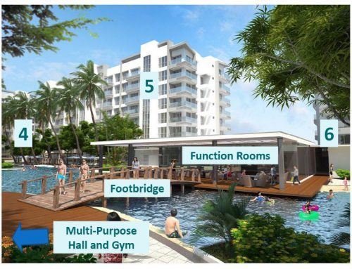 DS88808 – Bayshore Residential Resort Studio Unit for Sale in Asean Avenue, Bayshore City, Paranaque I Pre-selling