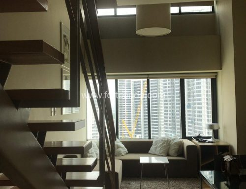 SOLD! DS881028/DR88737- One Bedroom Unit For Sale/For Rent One Rockwell West Tower in Rockwell Makati City