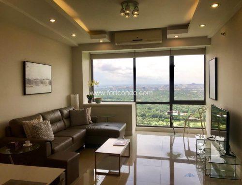 DE881024- Interior Decorated One Bedroom (1BR) Condo Unit For Sale Bellagio Tower 3 Fort Bonifacio BGC Taguig