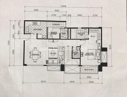 DE881025- Three Bedroom 3BR Penthouse Unit For Sale in Mckinley Garden Villas Mckinley Hill Fort Bonifacio I Loft Type Unit for Sale
