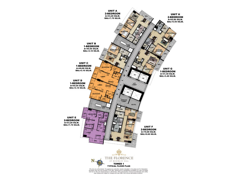 FLORENCE-FLOOR-PLAN-TOWER-1-TYPICAL