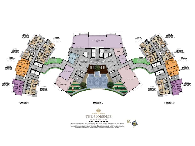 FLORENCE-mckinley-hill-condos-third-floor-plan