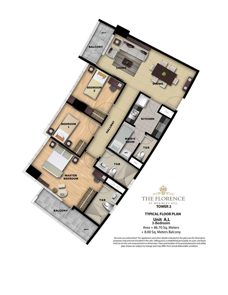 tower2-one-bedroom-condoforsale-mckinleyhill-unitlayouts