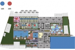 park mckinley west floor plan 1br 2br condo for sale fort bonifacio global city taguig