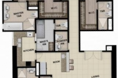 1br 2br 3br 4br bedroom floor layout condo for sale park mckinley west bgc
