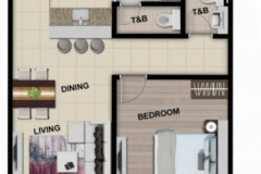 floor layout condo for sale in fort bonifacio global city taguig