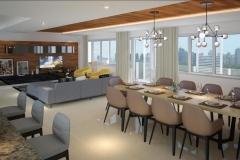 four bedrooms 4br penthouse condo for sale park mckinley west fort bonifacio bgc
