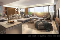three bedroom west skysuite preselling condo for sale at parklink pasig city and quezon city