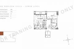 parklinks north tower unit layout horizon villa 3br preselling condo at parklinks quezon city and pasig city