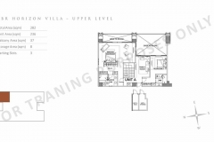 unit layout 3br horizon villa parklinks preselling condo for sale at pasig city and quezon city