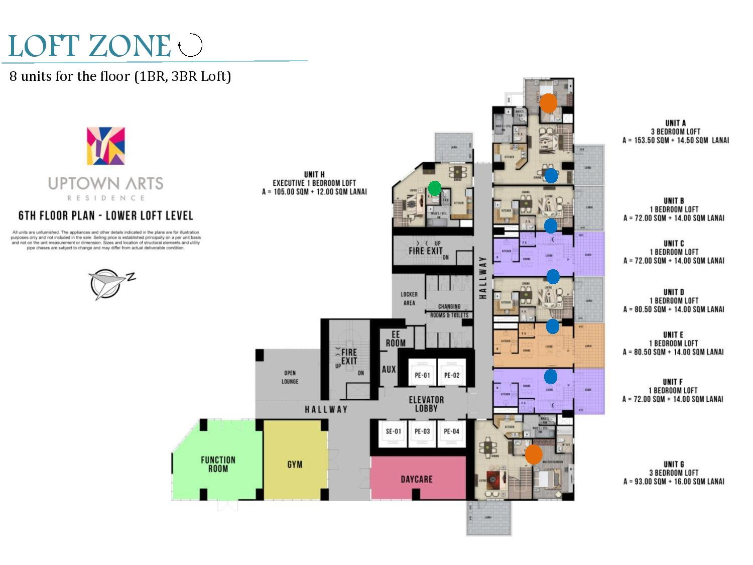 Uptown Arts Residence Floor Plan Uptown Arts Residence  Preselling Condo For Sale in Bonifacio Global City BGC