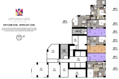 Uptown Arts Loft Floor Plan BGC Condo For Sale