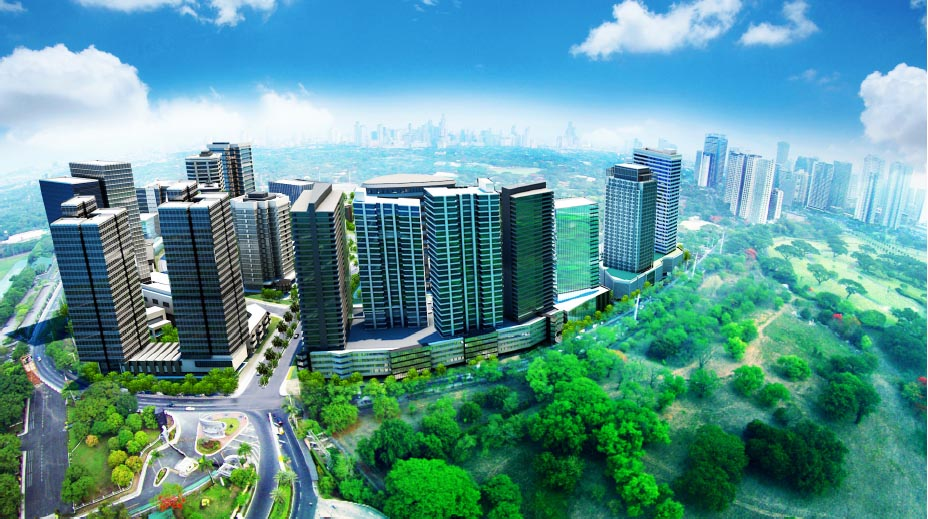 Mckinley West ultra high-end residential estates Beside Forbes Park
