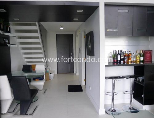 One Bedroom 1 BR Loft condo for sale at BGC Fort Bonifacio Global City | Bellagio Condominium Tower 2