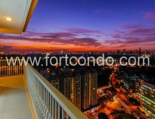 Unobstructed View of BGC Skyline | Modern Interior Design Semi Furnished One Bedroom Condo For Sale in Venice Luxury Residences