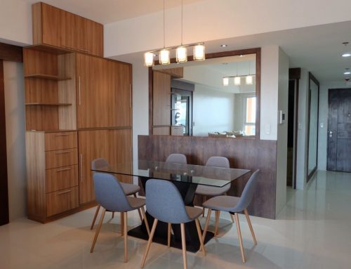 Modernly Furnished Three Bedrooms 3BR Unit For Sale With Stunning View and Balcony in Venice Mckinley Hill Fort Bonifacio