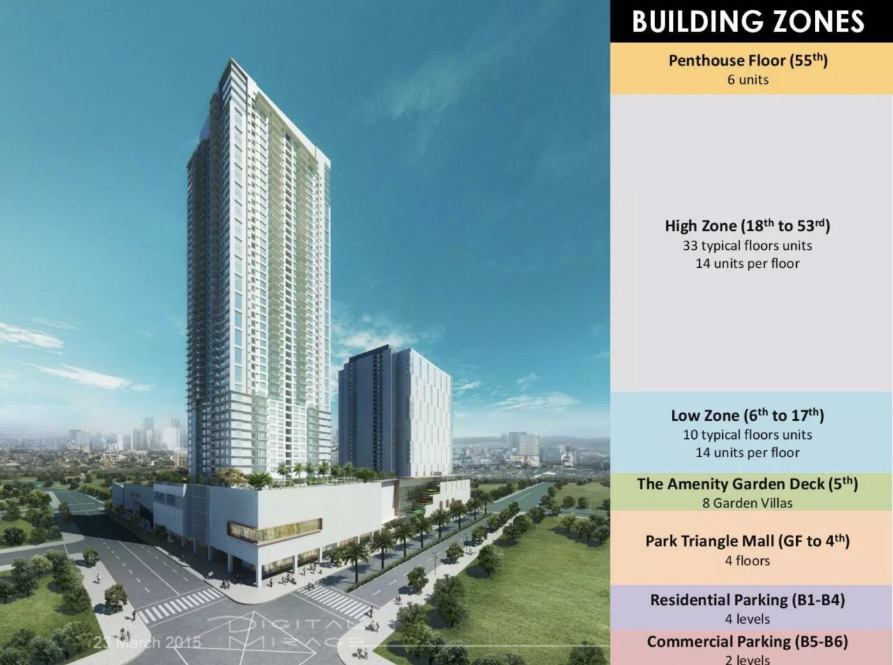 Park Triangle Residences | Two Bedrooms 2BR Condo For Sale in Bonifacio Global City BGC | A master Plan of Convergence