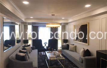 Three Bedroom 3 BR Corner Unit with Balcony & Maid's Room for SALE at Forbeswood Heights BGC