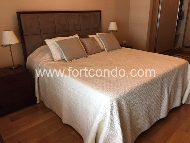 Two Bedroom 2BR Condo For Rent with Maid's Room in Gated Community at One Serendra Narra Tower Bonifacio Global City Taguig