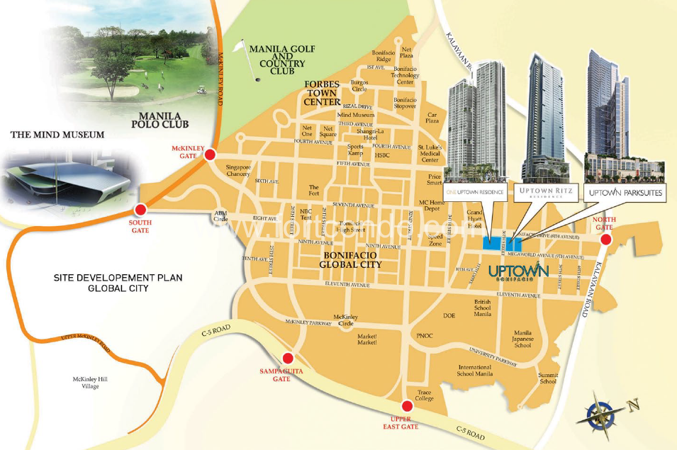 2 Bedroom 2 BR Condos for Sale in BGC Fort Bonifacio Global City