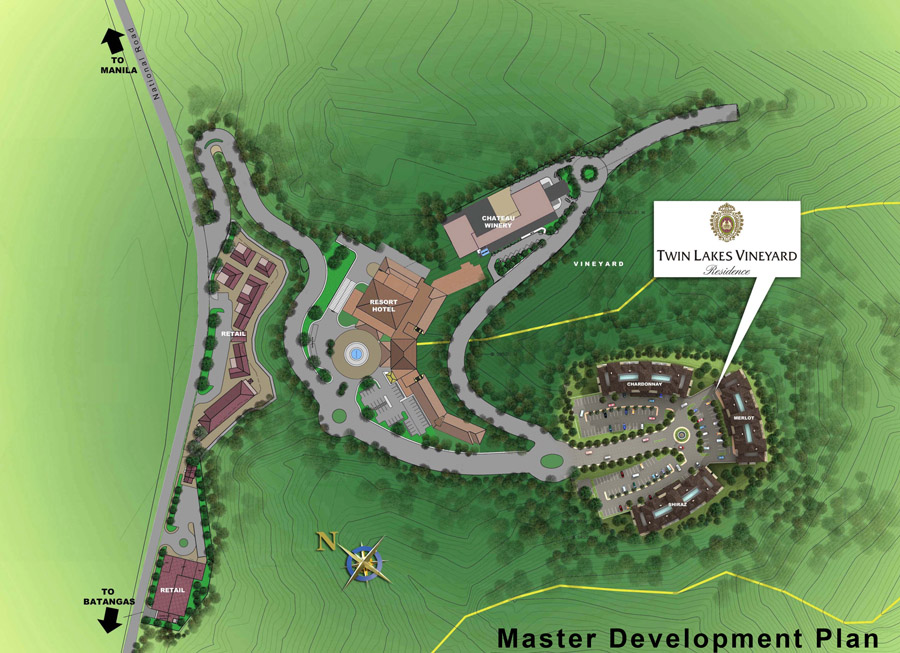 Tagaytay-Twin-Lakes-Vineyard-Residences-Master-Development-Plan