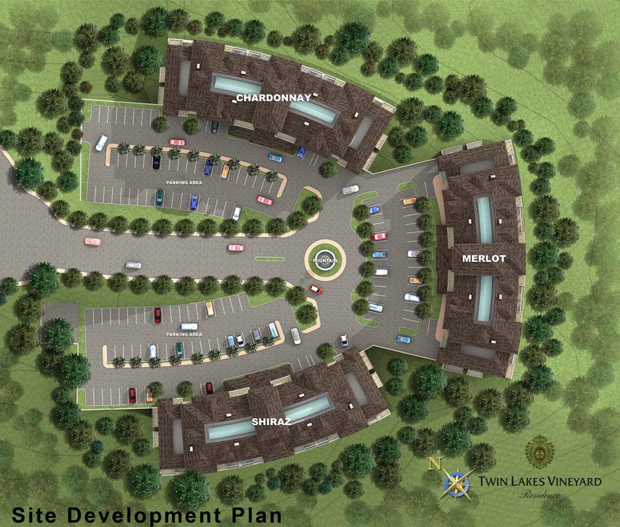 Tagaytay-Twin-Lakes-Vineyard-Residences-Site-Development-Plan