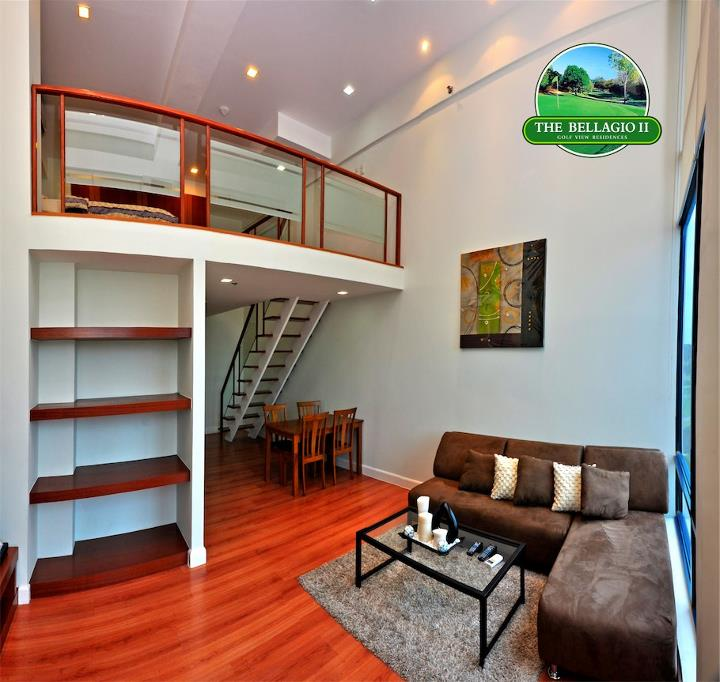 One Bedroom Lofts: One Bedroom Global City Condo For Rent
