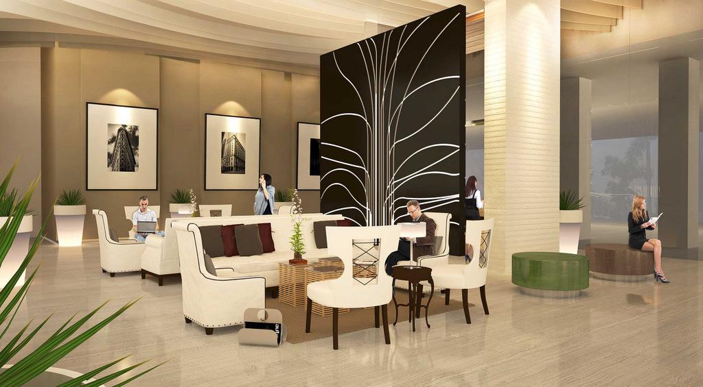 Uptown Ritz Lobby