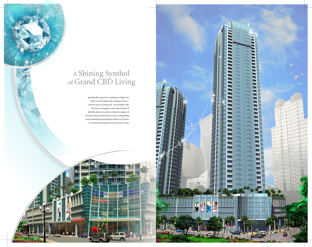 Three Central Makati City Condos