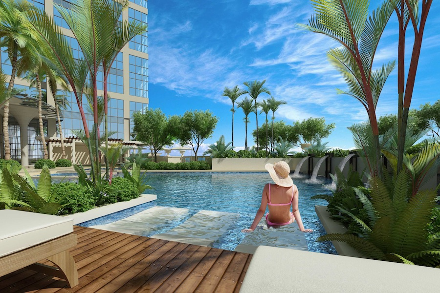 Uptown-Park-suites-Amenity-pool