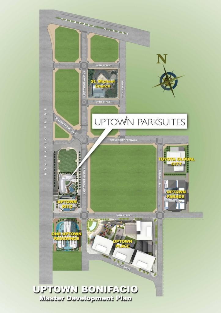 Uptown Parksuites Master Plan