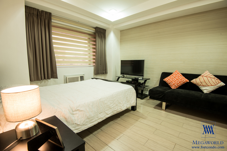For Rent Two Bedroom Condo With Balcony At Mckinley Hill Tuscany Fort Bgc Taguig