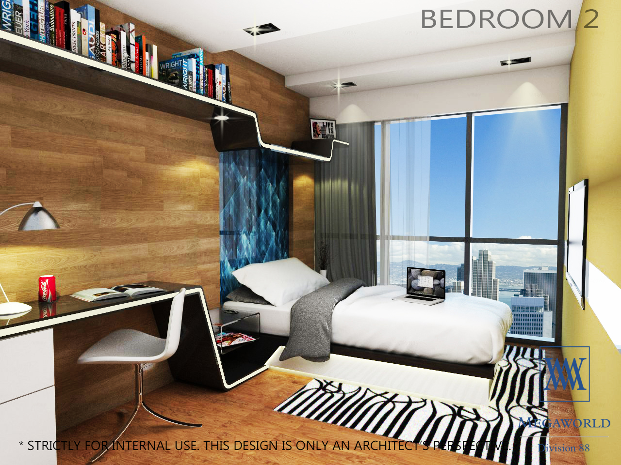 UPTOWN PARKSUITES-1 BEDROOM 2--condos-for-sale-bgc-fort-bonifacio-global-city-taguig