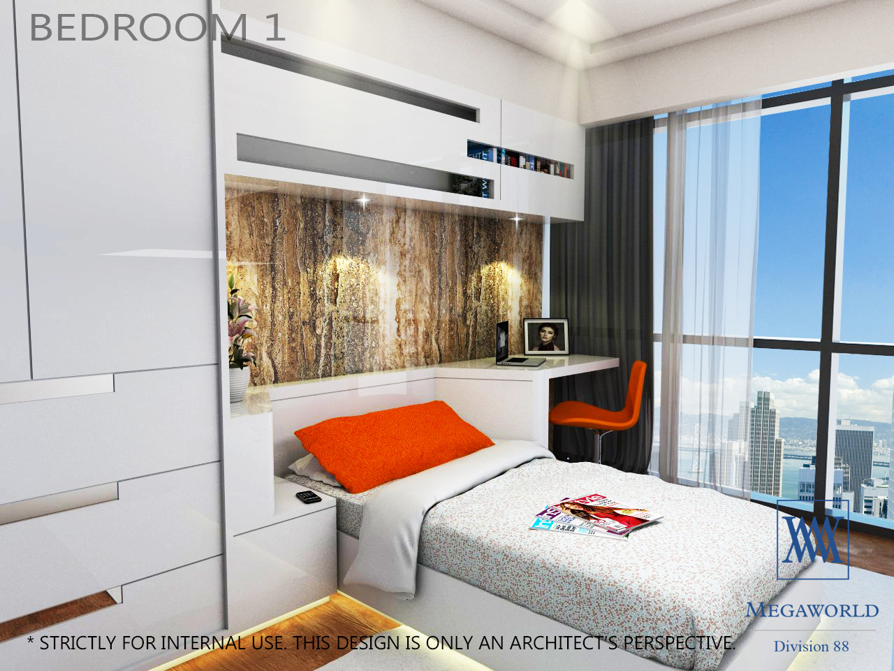 UPTOWN-PARKSUITES-BEDROOM 1-condos-for-sale-bgc-fort-bonifacio-global-city-taguig