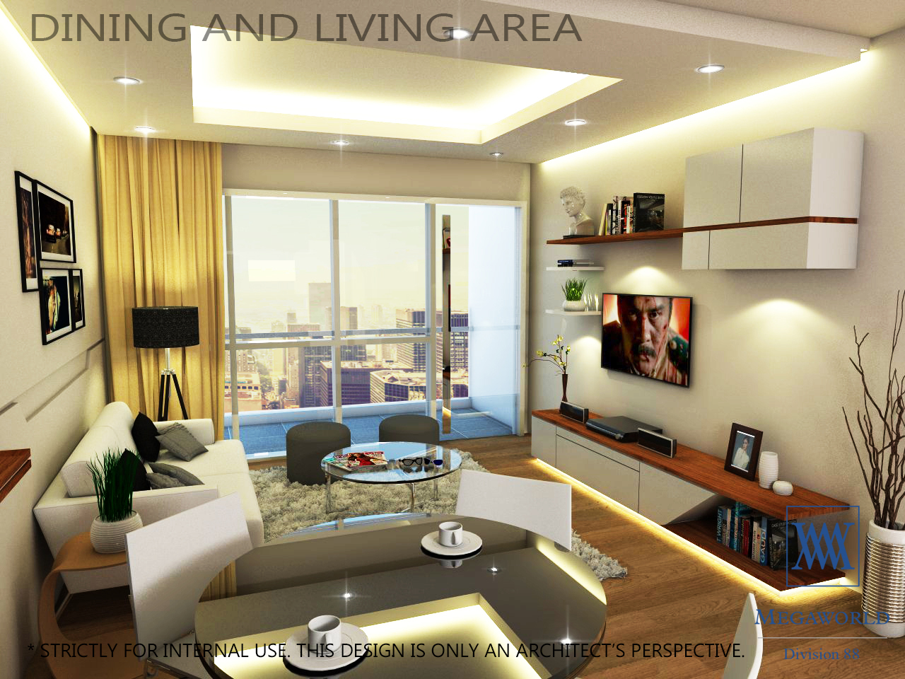 DINING-AND LIVING-AREA-condos-for-sale-bgc-fort-bonifacio-global-city-taguig