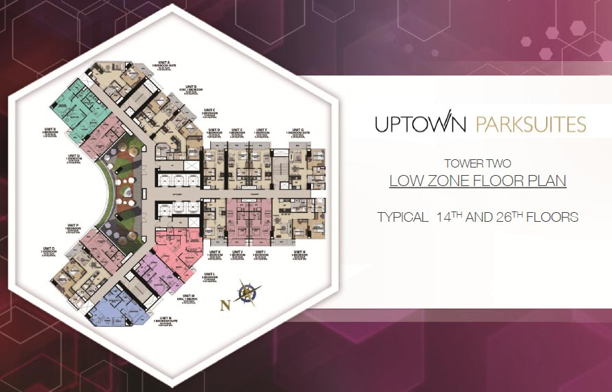 uptown-parksuites-tower2-14th-typical-floor-plan