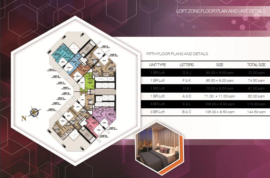 uptown-parksuites-tower2-5th-floor-plan