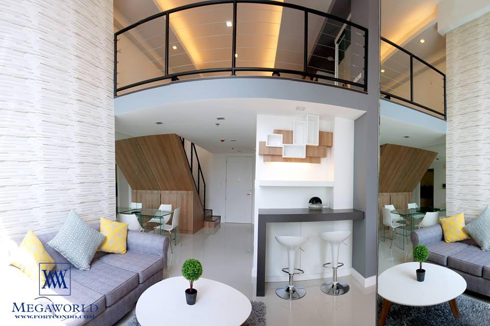 60 Sqm 1 Bedroom Loft For Sale At Bellagio Two Fort Bonifacio Global City